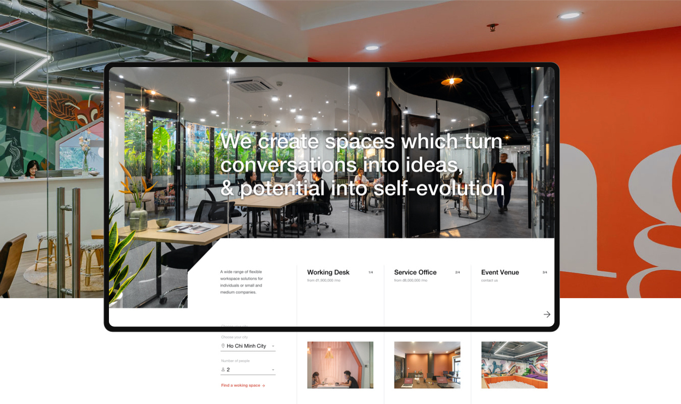 TOONG co—working space  DIGITAL EXPERIENCE & VISUAL DESIGN