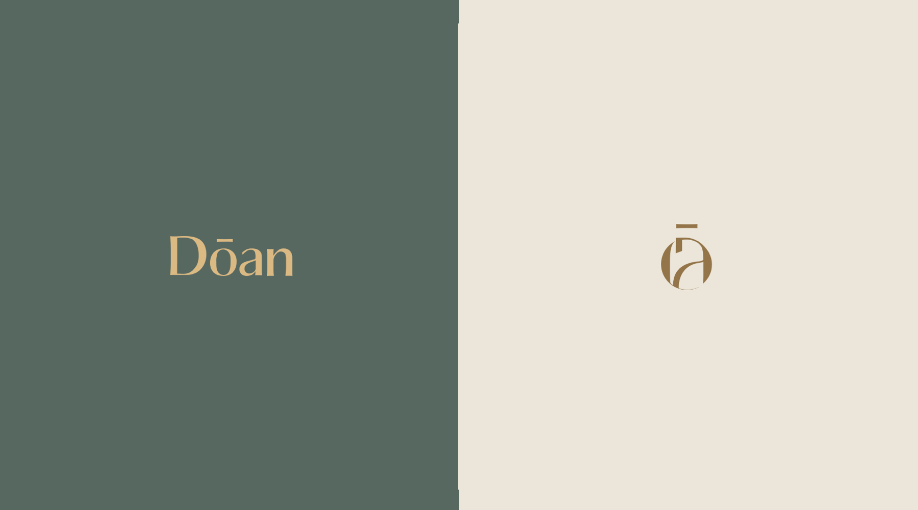 DOAN - Effortless beauty Branding
